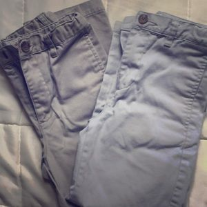 Two pairs of Cat & Jack pants size 6